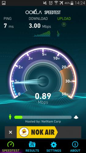 Nok Air Free WiFi onboard