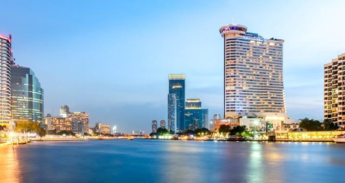 Millennium Hilton Bangkok เจริญนคร (ภาพจากเว็บไซต์ Hilton)