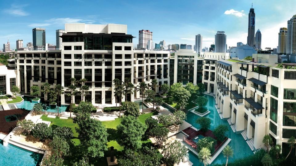 Siam Kempinski โรงแรมหรูด้านหลังสยามพารากอน (ภาพจากเว็บไซต์โรงแรม)