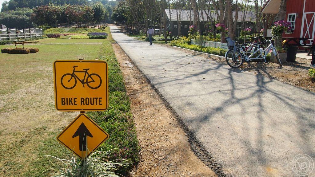 Bike Lane ไร่บุญรอด สิงห์ปาร์ค เชียงราย