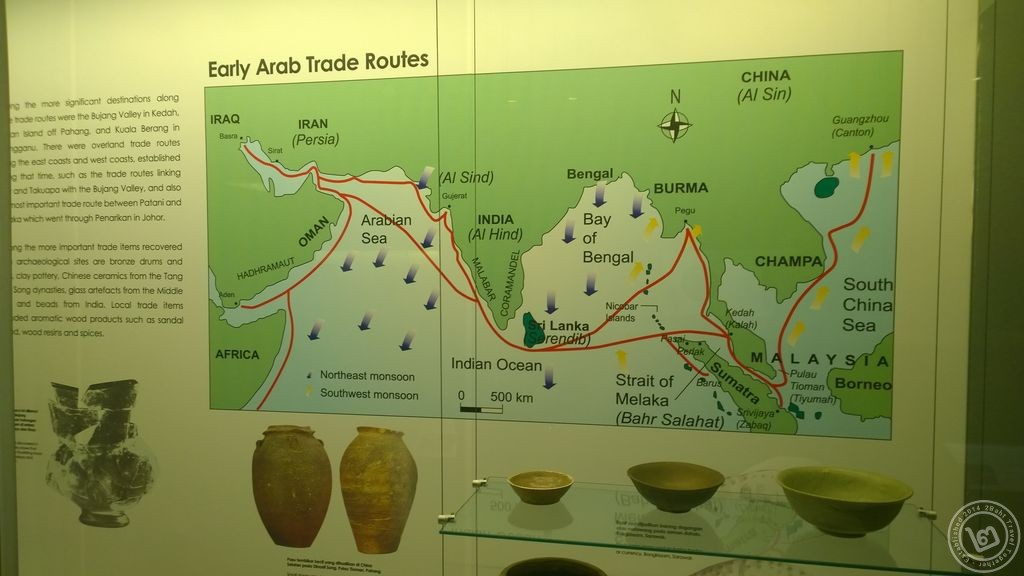 Malaysia Trade route