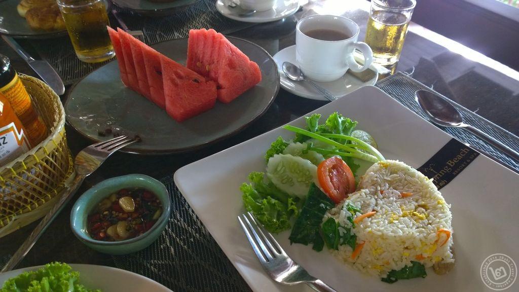 The Hotspring Beach Food Breakfast