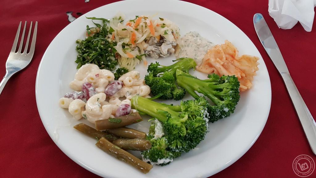 อาหารจานผักของจอร์แดน ส่วนใหญ่เน้นผักดองหรือแปรรูป