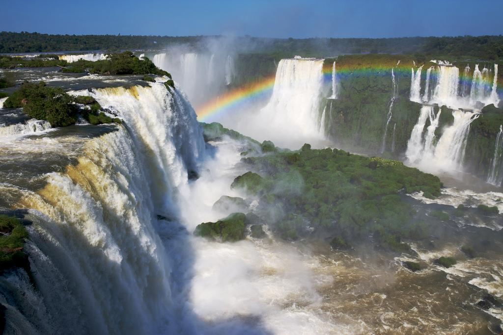 น้ำตก Iguazu Falls - ภาพจาก Flickr Nico Kaiser