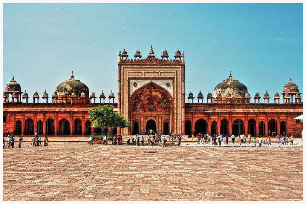 Fatehpur Sikri พระราชวังของกษัตริย์อัคบาร์แห่งอินเดีย - Flickr Daniel Mennerich