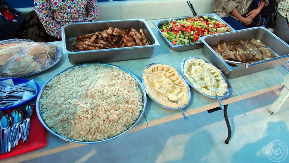 อาหารบนเรือนำเที่ยว Aqaba