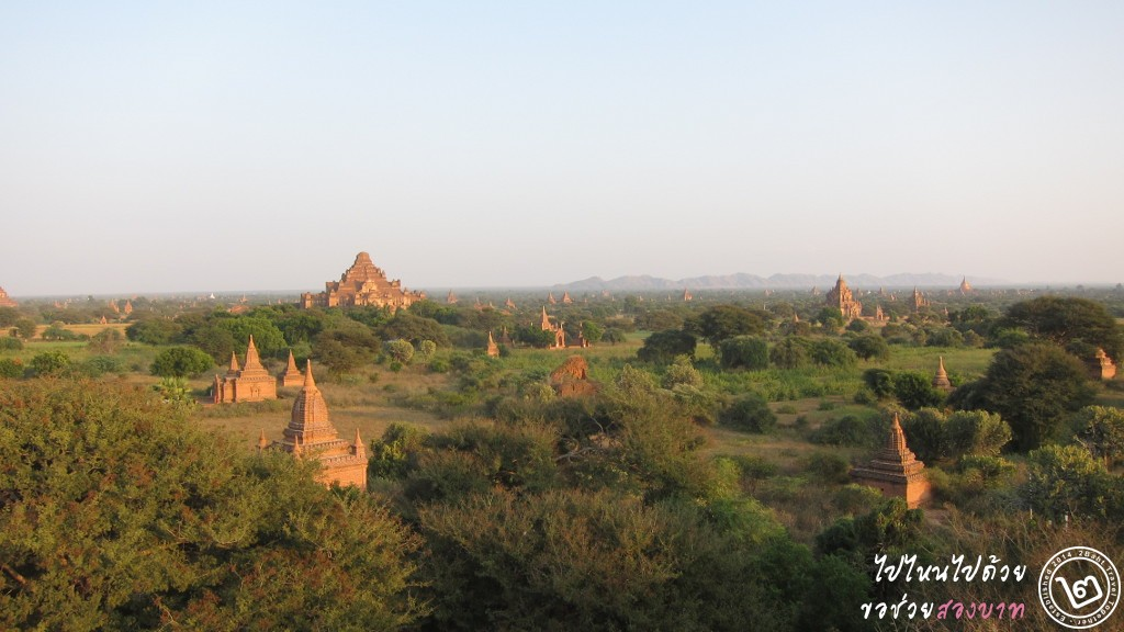 มวลหมู่เจดีย์ในเมืองพุกาม ประเทศพม่า - 2Baht