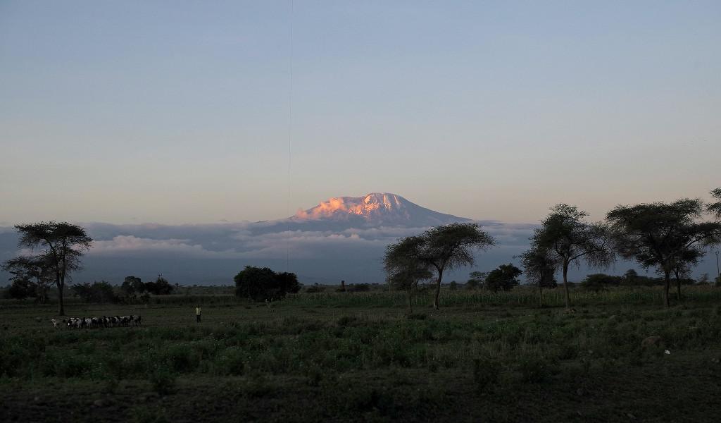 ยอดเขา Kilimanjaro สูงเสียดฟ้า - Flickr Roman Boed