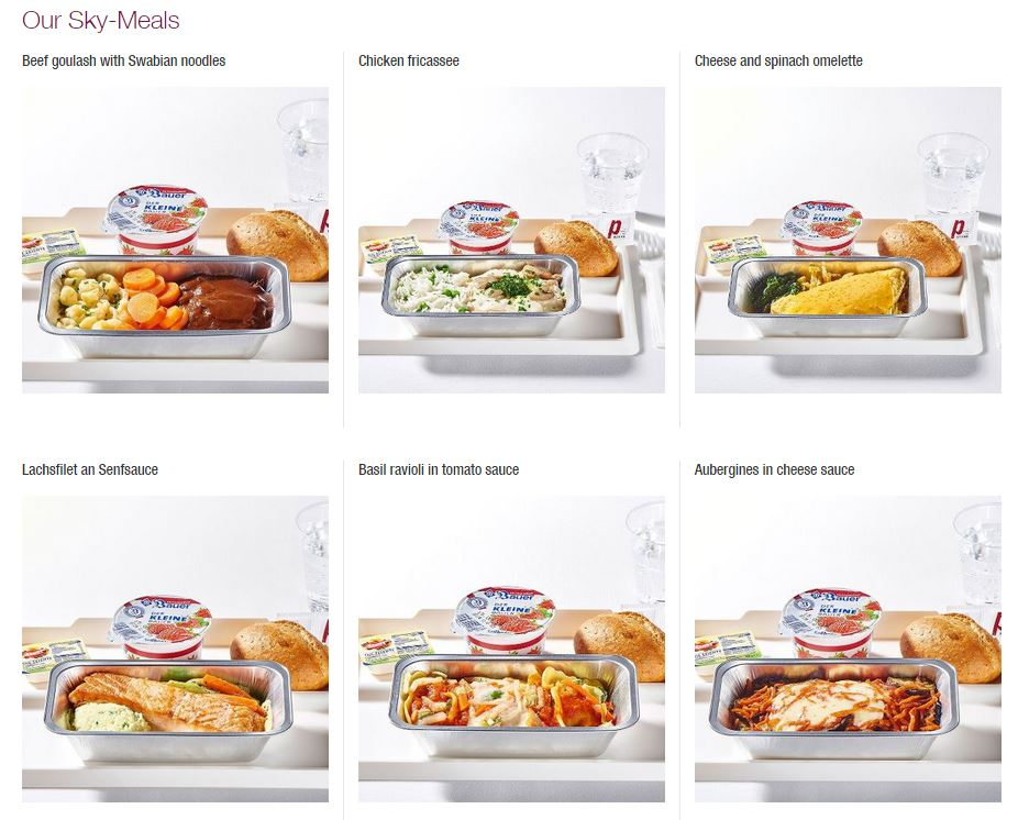 Eurowings Meals