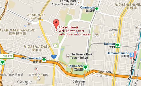 tokyo-tower-map
