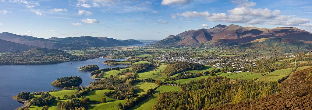 ภูเขา Skiddaw ในแถบ Lake District (ภาพจาก Wikipedia)