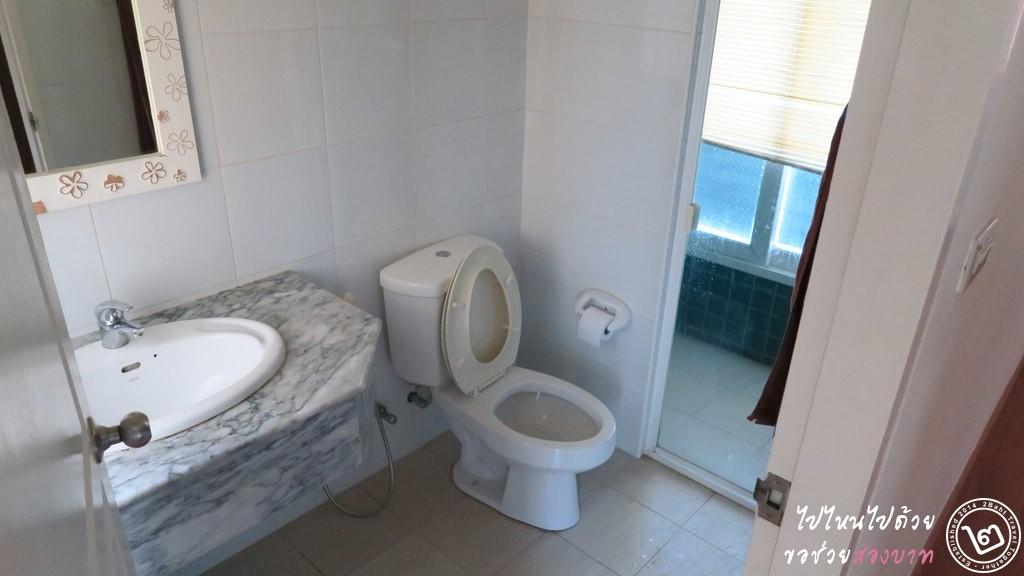 ห้องน้ำ บ้านทะเลสำราญ