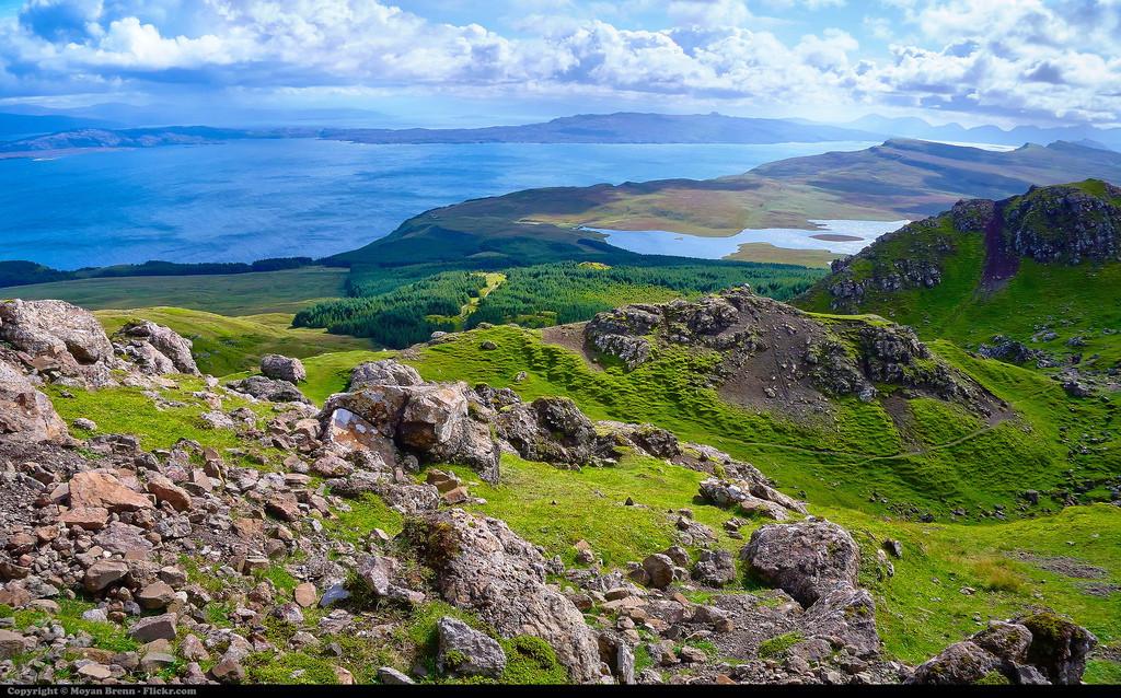 Isle of Skye ภาพจาก Flickr Moyan Brenn