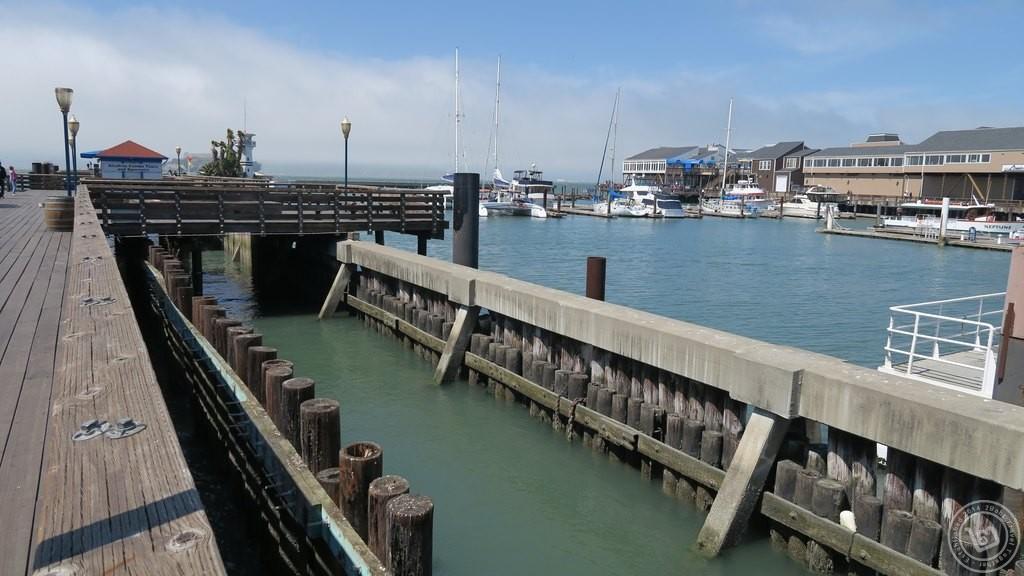 Pier 39 จากด้านข้าง