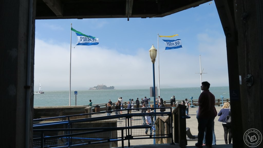 เกาะอัลคาทราซ มองจาก Pier 39