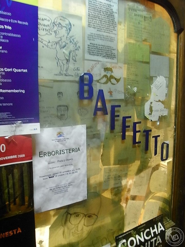 Pizza Baffetto Rome