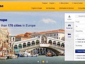 Lufthansa Website