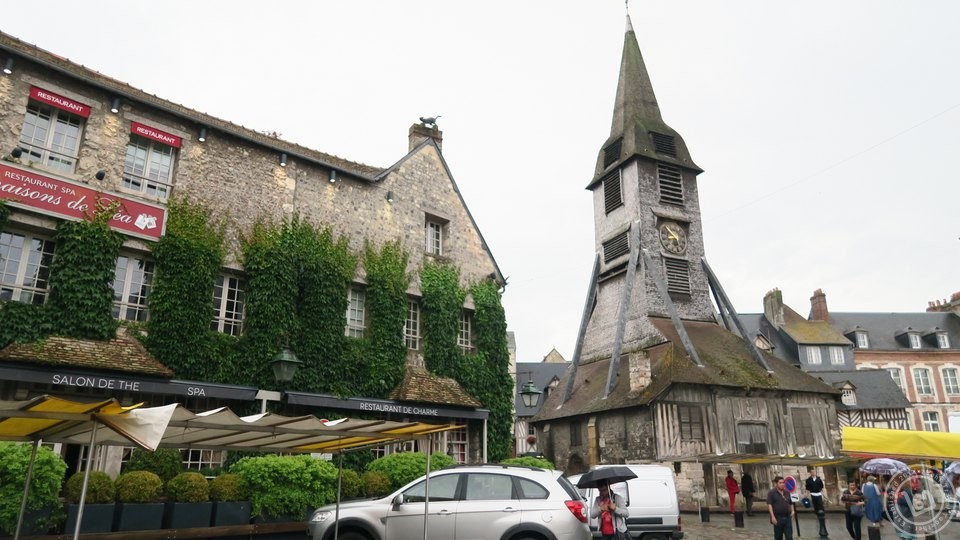 Saint-Catherine's Church Honfleur