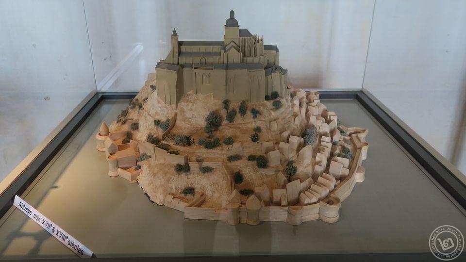 Mont Saint-Michel ในศตวรรษที่ 17-18