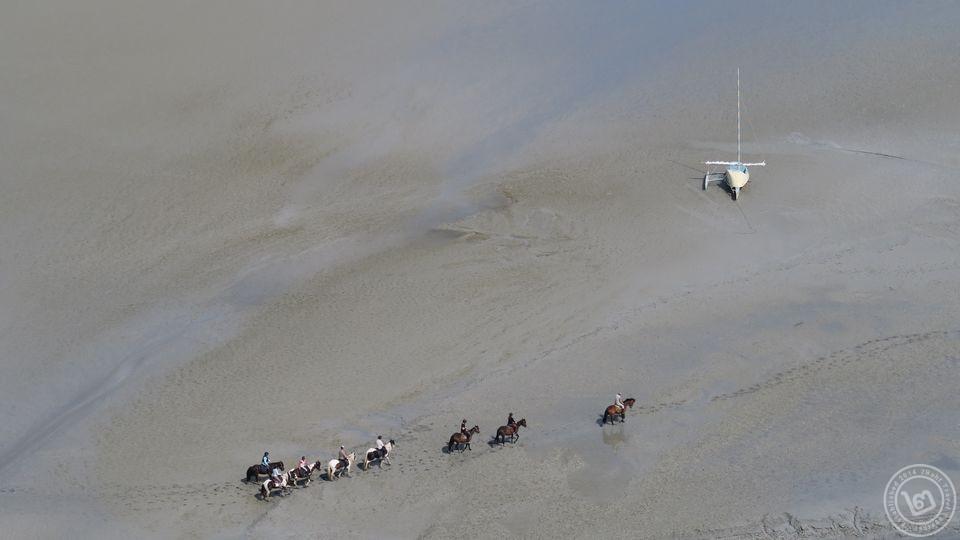 ขี่ม้าในทะเลมงแซงมิเชล
