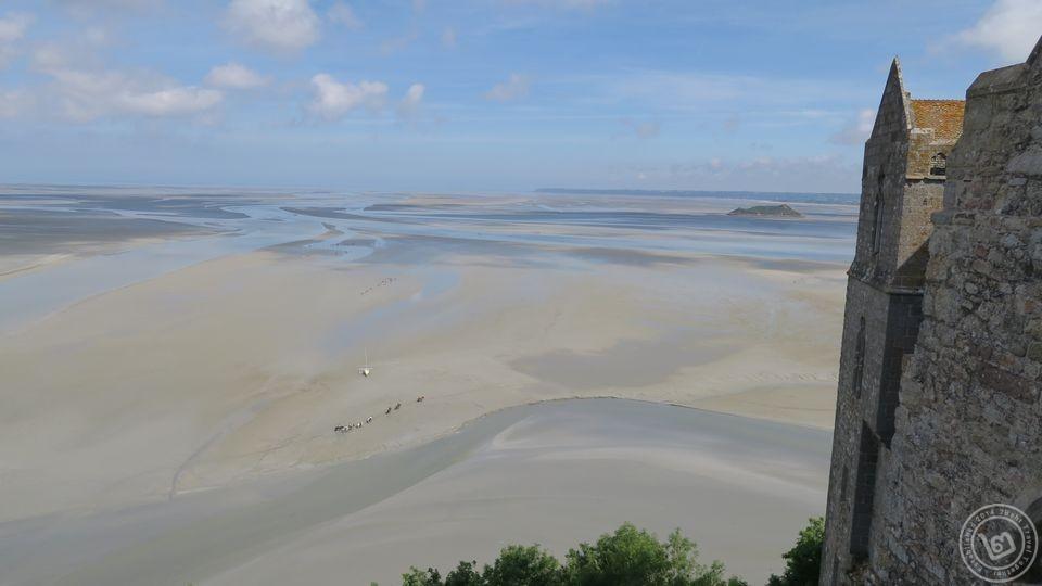 ทะเลช่วงน้ำลงของมงแซงมิเชล
