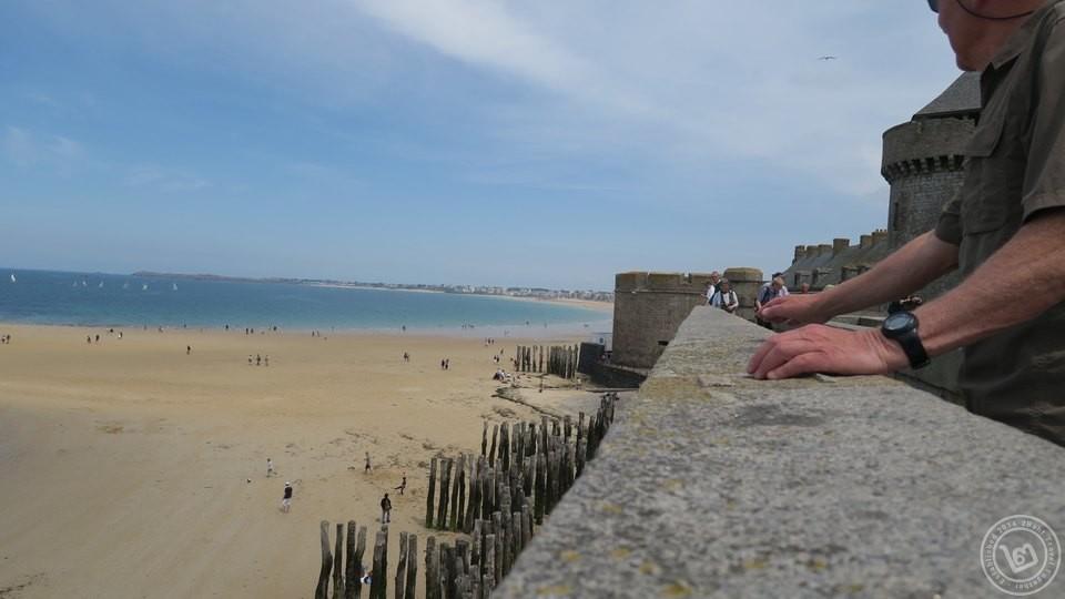 กำแพงเมือง Saint Malo