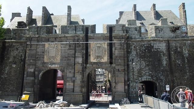 ประตูเมือง Saint Malo