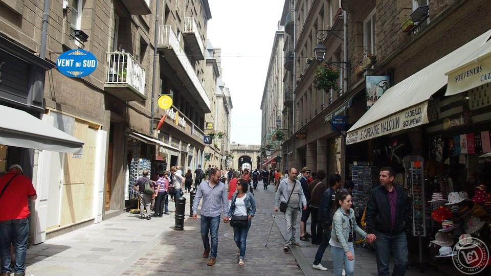 Saint Malo Downtown