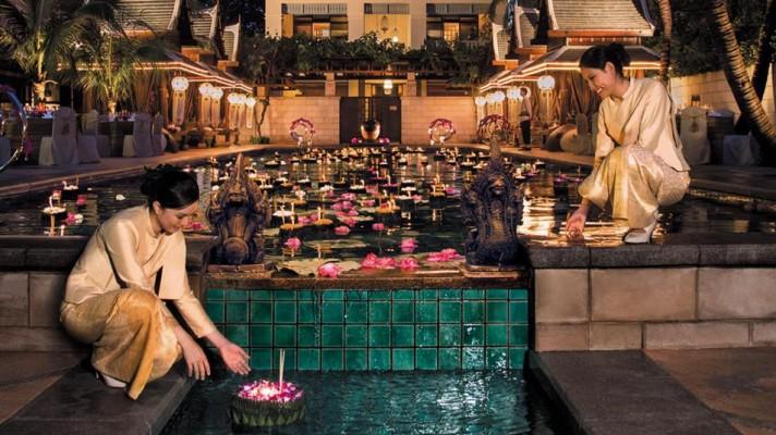ภาพจากเว็บไซต์โรงแรม The Peninsula Bangkok