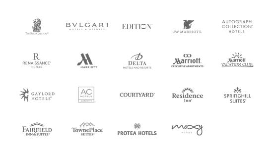 แบรนด์โรงแรมในเครือ Mariott International