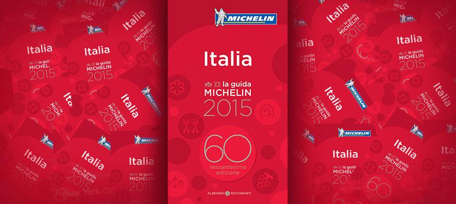 ตัวอย่างหน้าปก Michelin Guide 2015 (ภาพจากเว็บ Michelin)