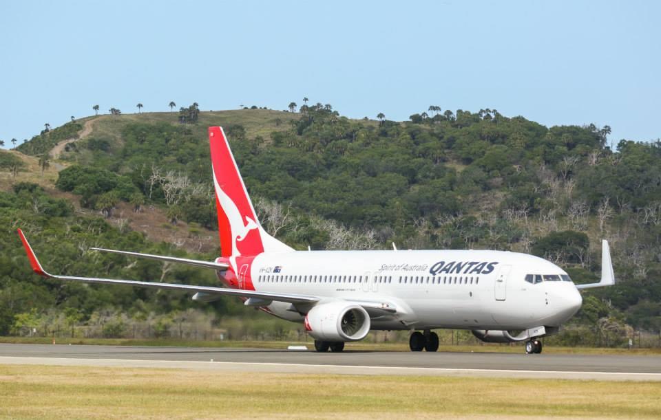 ภาพจาก Qantas Facebook