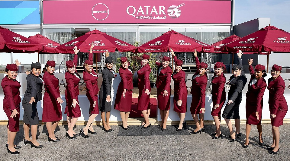 ภาพจาก Facebook Qatar Airways
