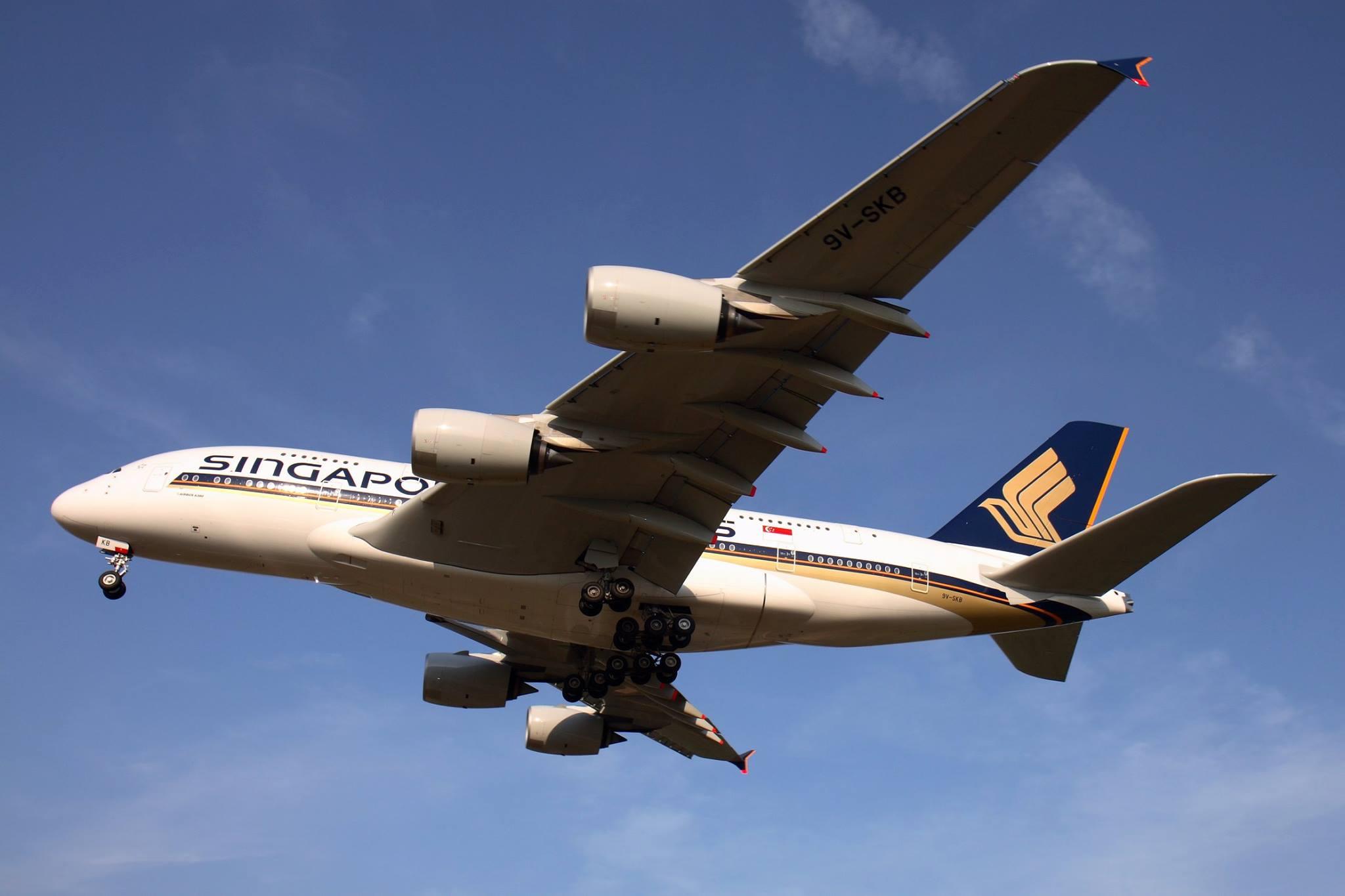 ภาพจาก Facebook Singapore Airlines