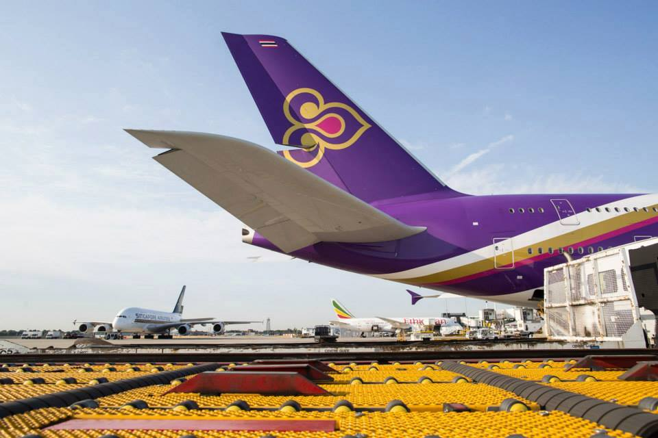 ภาพจาก Facebook Thai Airways