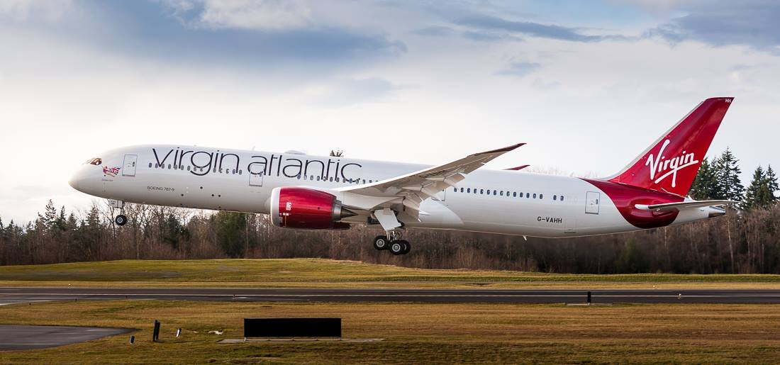 ภาพจาก Facebook Virgin Atlantic
