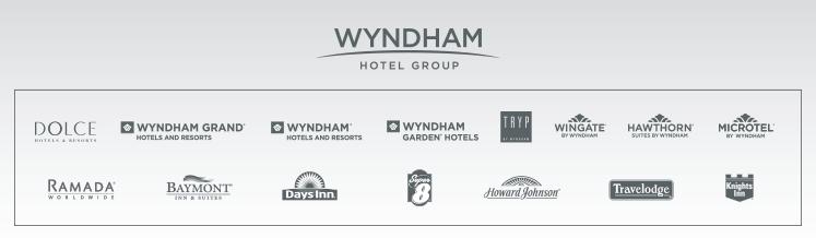 โรงแรมในเครือ Wyndham