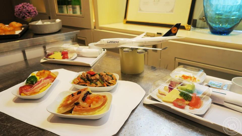 Lufthansa Star Chefs Menu