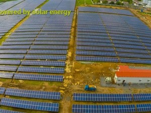 CIAL Cochin Airport Solar Power