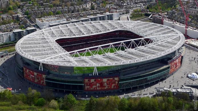 Emirates Stadium ภาพจากเว็บไซต์ Arsenal