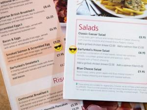 gatwick menu