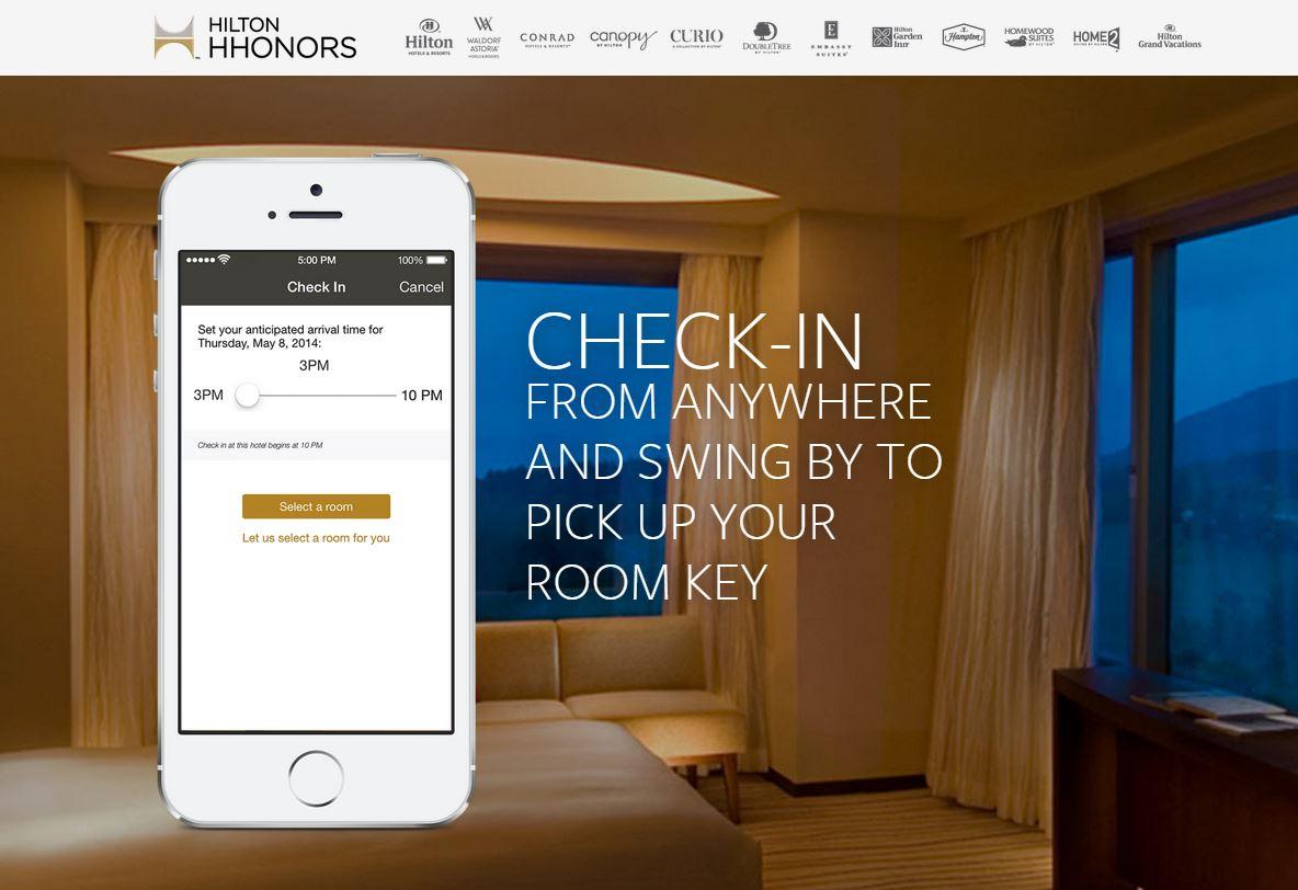 Hilton HHonor App