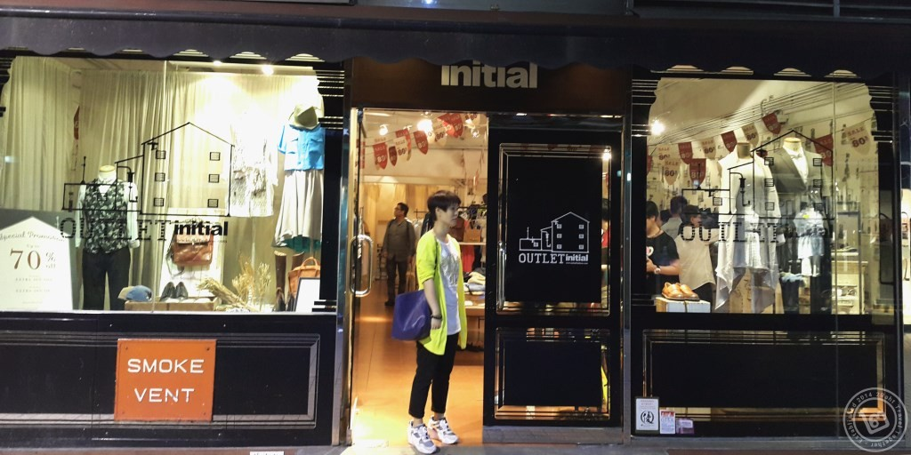 initail Outlet ที่ตึก Camel Paint ฮ่องกง