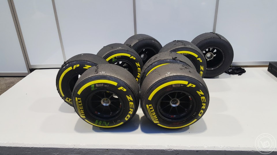 F1 Used Tires