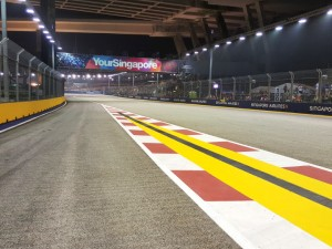 F1 Singapore Night Race Circuit