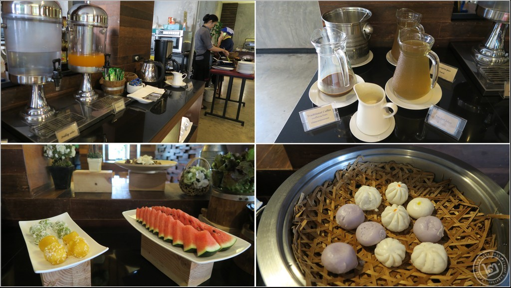 อาหารเช้าที่ Klim Kitchen