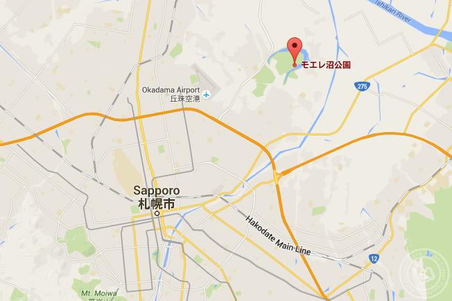 Moerenuma-Park Maps