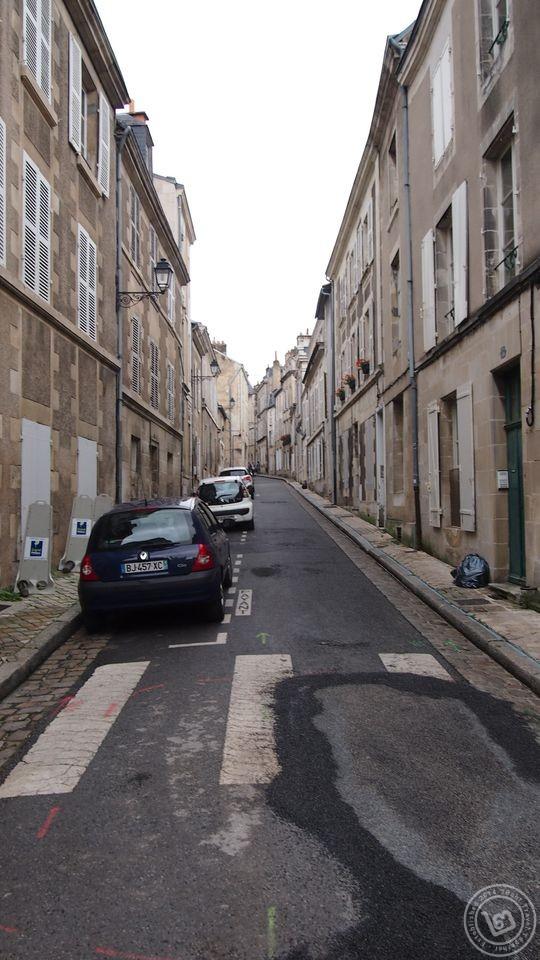 ถนนหนทางในปัวติเยร์