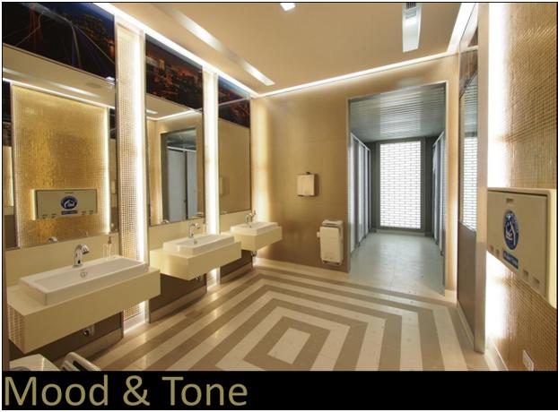 ภาพรูปแบบของห้องน้ำที่จะทำการปรับปรุงใหม่
