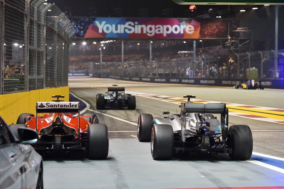 ภาพจากเว็บไซต์ Singapore Grand Prix 2015